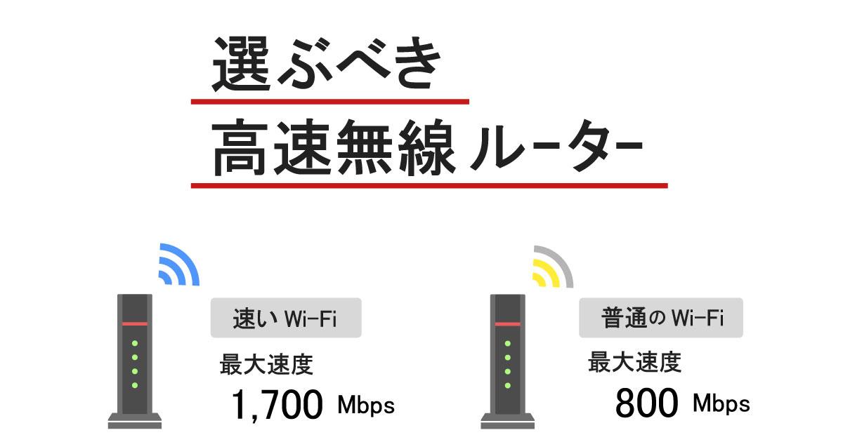 【速いIPv6対応】Wi-Fi性能1,000M以上のおすすめ無線ルーターを紹介